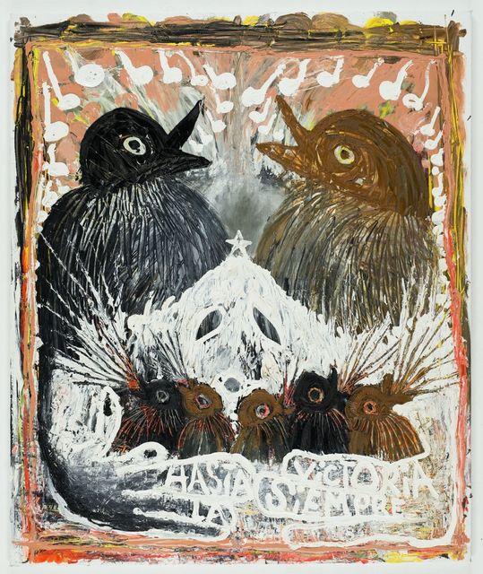 , 'Hasta La Victoria Siempre (Ghost of Jungmönche),' 2015, Moran Moran