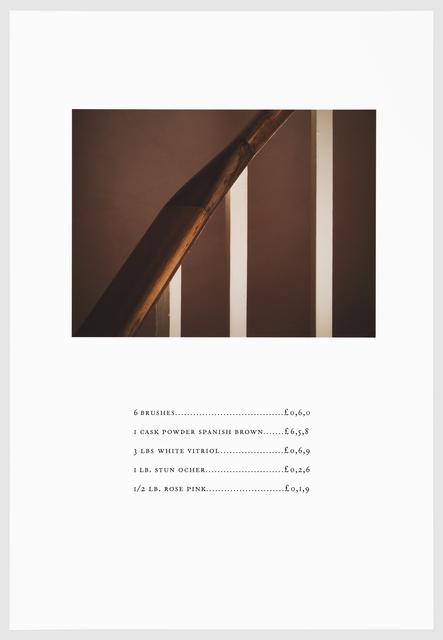 , 'VITRIOL,' 2016, Arnika Dawkins Gallery