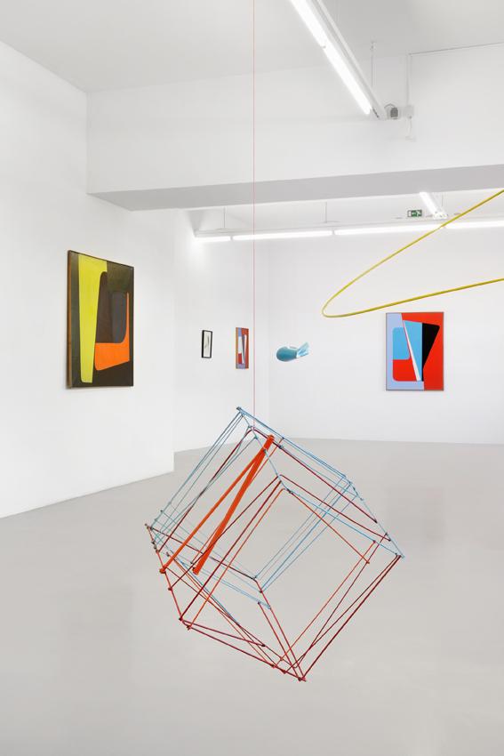 Ib Geertsen Exhibition view GAK Gesellschaft für Aktuelle Kunst, 2016 Photo: Tobias Hübel