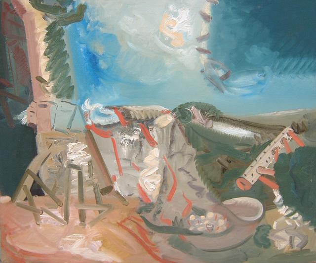 , 'Manifold Landscape,' 1991, Boundary Gallery