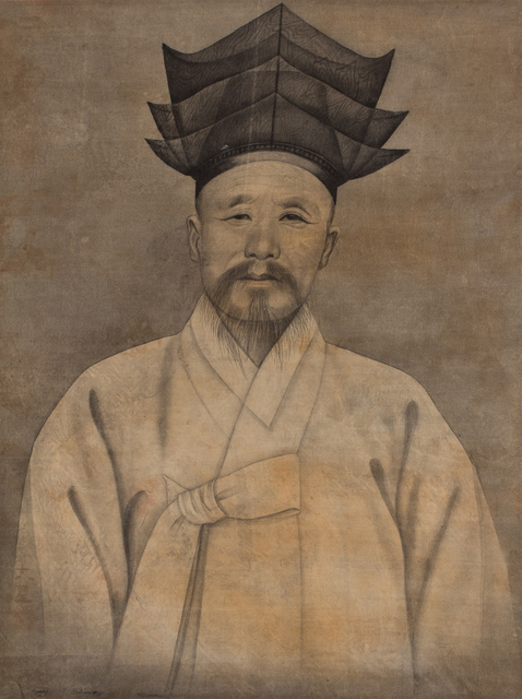 , 'Portrait of an Elder with Confucian Hat ,' Early 20th century, Newark Museum