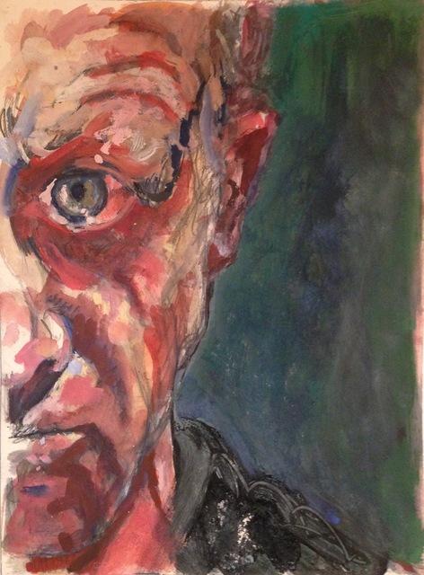 , 'Self Portrait,' 2014, Crane Kalman Gallery