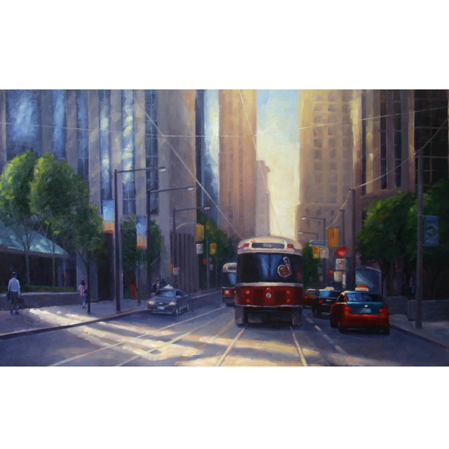 , 'Reflected Light on King St.,' 2019, Petroff Gallery