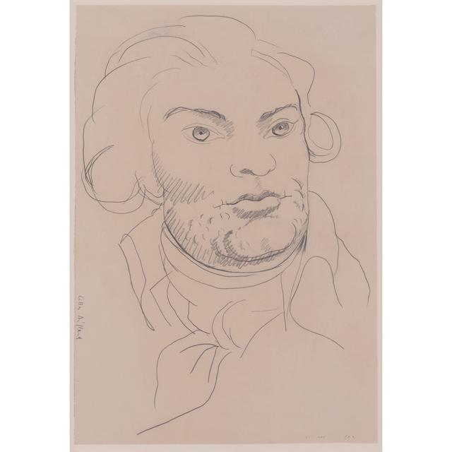 Gilles Aillaud, 'Portrait de Danton', 1989, PIASA