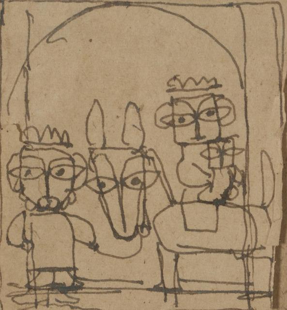 , 'Flight to Egypt,' , Swaraj Art Archive
