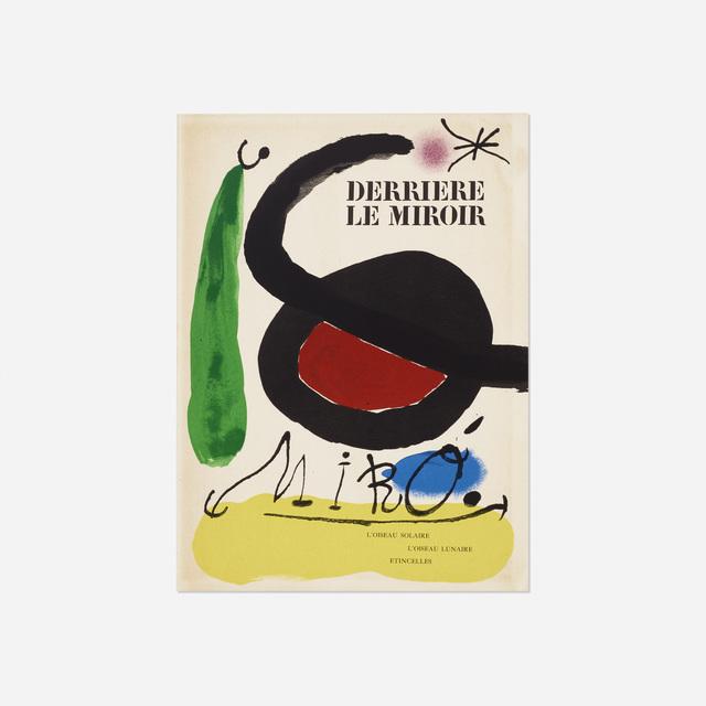 Joan Miró, 'Derriere Le Miroir: L'Oiseau Solaire, L'Oiseau Lunaire - Etincelles', 1967, Rago/Wright