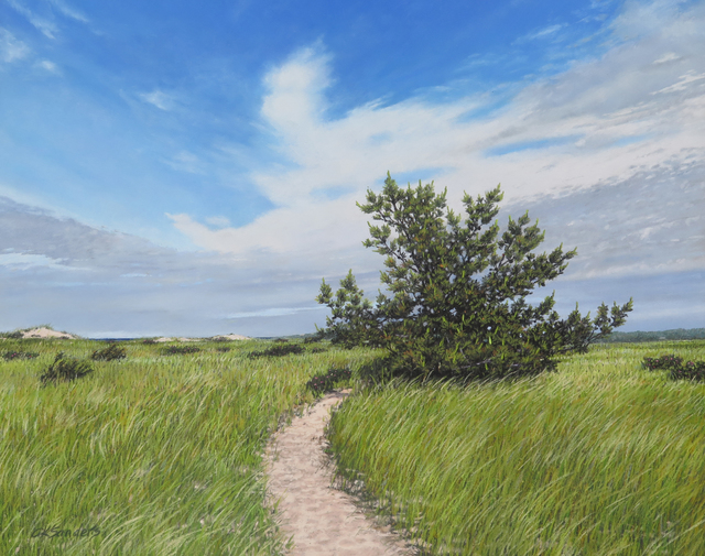 Amy Sanders, 'Early Summer at Crosby Landing', 2019, Addison Art Gallery