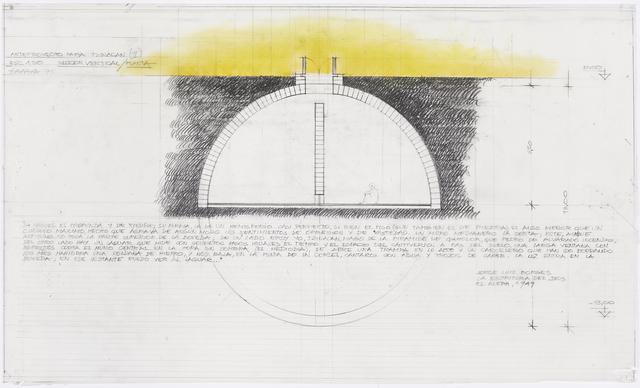 , 'Anteproyecto para Tzinacán II,' 1975, Henrique Faria Fine Art