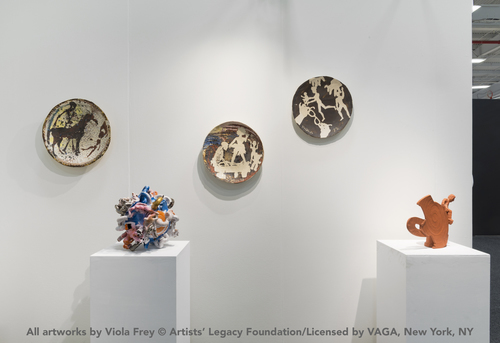 All artworks by Viola Frey © Artists' Legacy Foundation/Licensed by VAGA, New York, NY