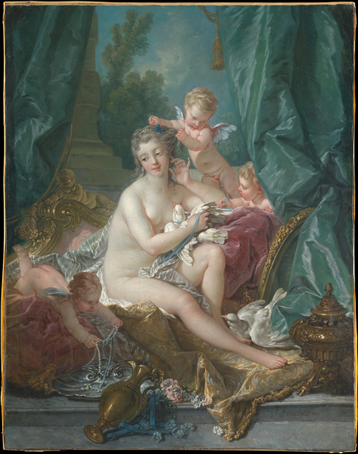 François Boucher, 'The Toilette of Venus', 1751, The Metropolitan Museum of Art