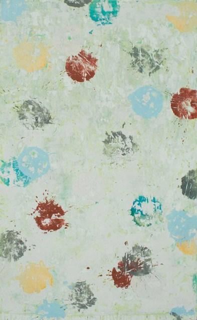 Nicole Charbonnet, 'Erased Dots (Green)', 2006-07, Winston Wächter Fine Art