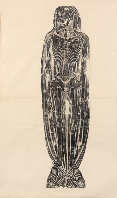 , 'Shrouded Skeleton,' c. 1860, Hammer Museum