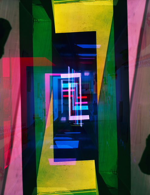 , 'Geometric light XVI,' 2013, Taik Persons