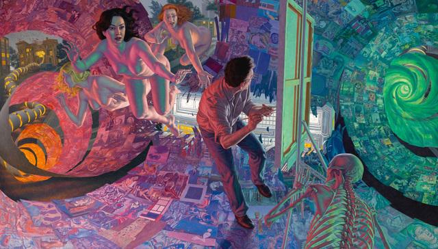 , 'The Dream of Art History,' 2018, Craig Krull Gallery