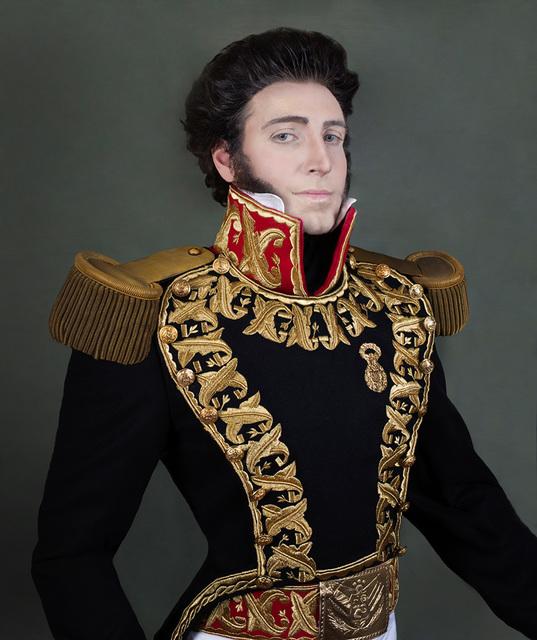, 'Gran Mariscal Don Juan Bautista Elespuru y Montes de Oca (self-portrait),' 2014, the harts gallery