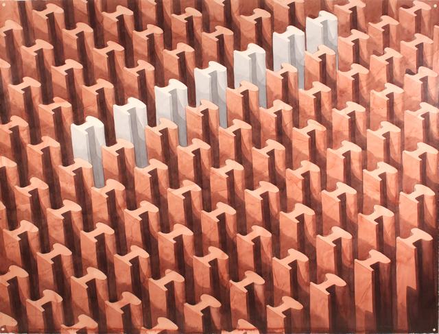 , 'Siete Rieles Blancos,' 2010, Berggruen Gallery