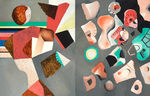 , 'Universo (Diptych),' 2014, Galeria Pilar