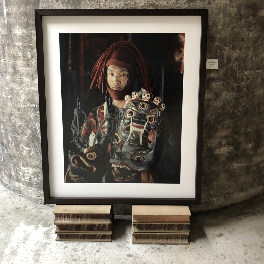 Mask dancer, Paro Buthan 2016 Edition 6 120*100cm Archival Print
