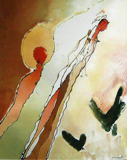 Josep Guinovart, 'Ocells', 1995, Galeria Jordi Pascual