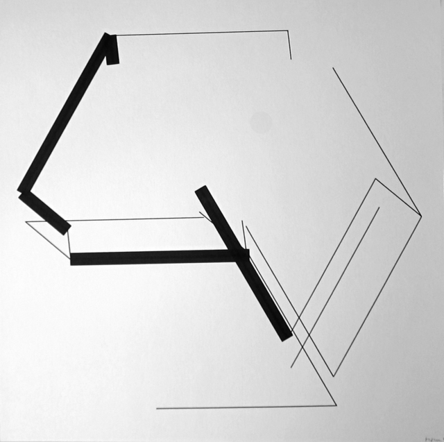 , 'P-453_4-5,' 1990, Galerie Charlot