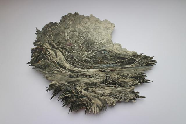 , 'Distant Waterfall,' 2018, bo.lee gallery