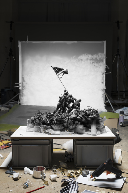 ", ' Making of ""Raising the Flag on Iwo Jima"" (by Joe Rosenthal, 1945), 2015,' 2015, East Wing"