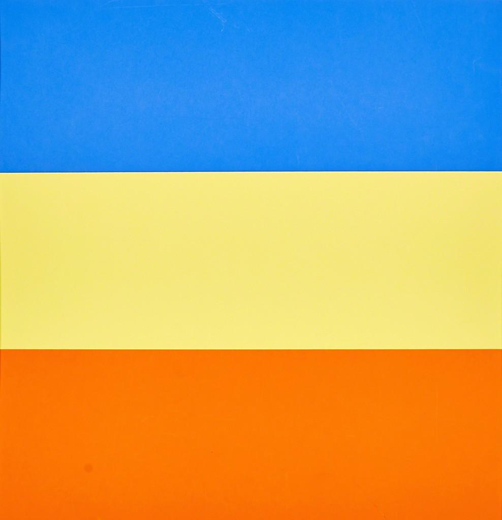 Ellsworth Kelly   Untitled (Blue/Yellow/Red) (1970-73)   Artsy