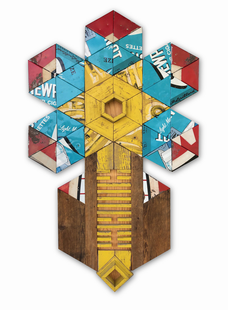 Benjamin Lowder, 'Power and Prosperity Totem', 2019, Open Mind Art Space