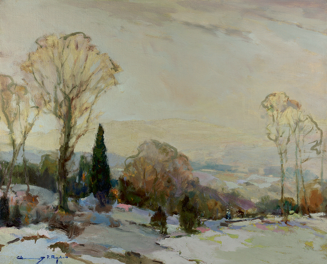 , 'Snow in November,' , Questroyal Fine Art