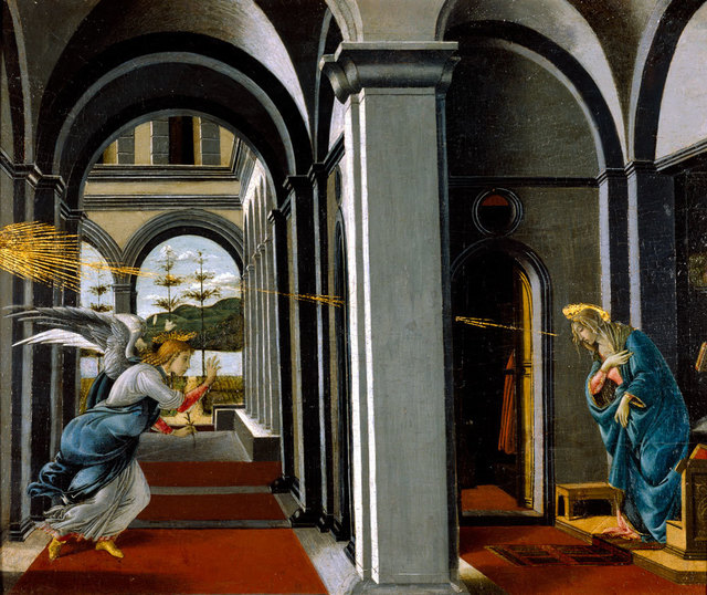 , 'The Annunciation ,' ca. 1490, American Federation of Arts
