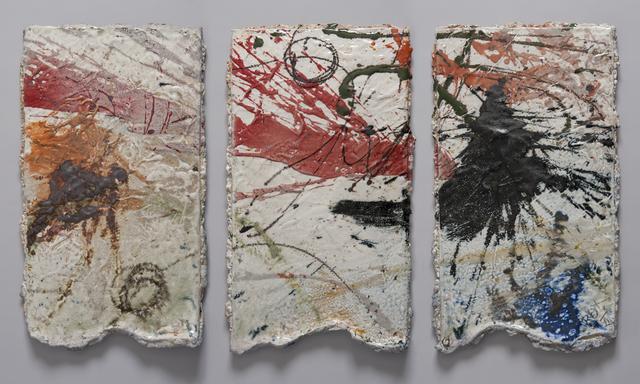 , 'Triptych ,' 2012, Lacoste Gallery