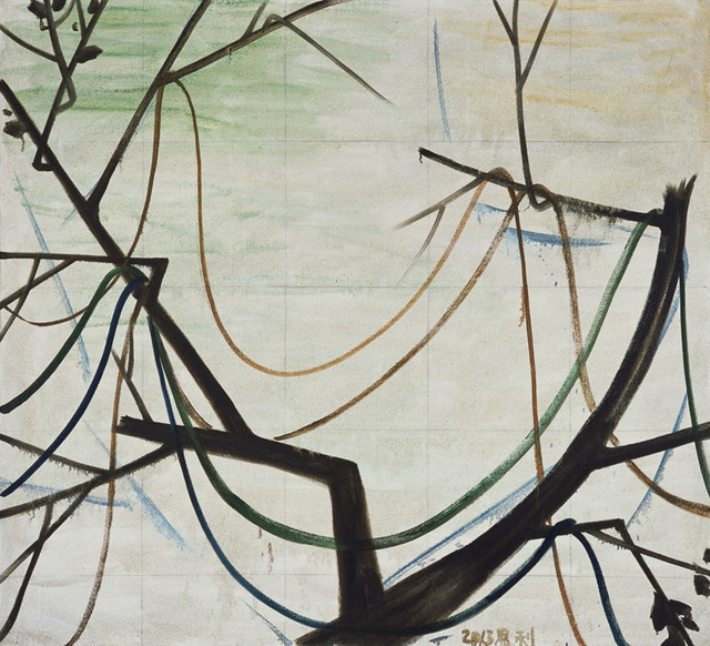 , 'The Trees in Autumn 3 (秋天的树 3),' 2013, ShanghART