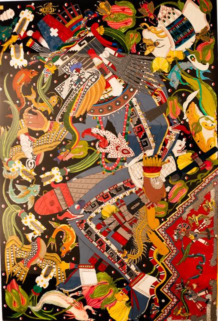 David Gremard Romero, 'El Sacrificio de Quetzalcóatl ', 2018, MAIA Contemporary