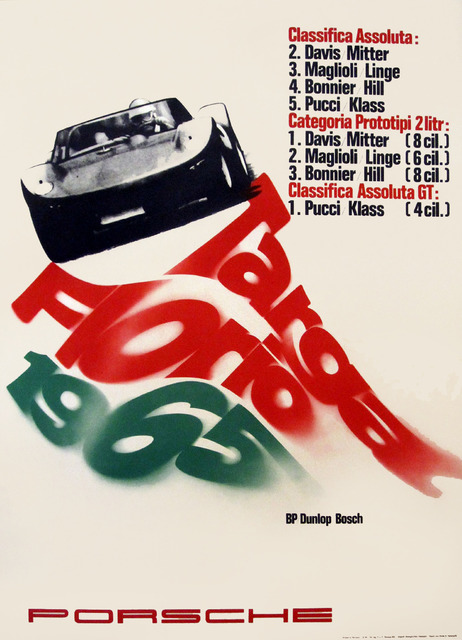 , 'Porsche Targa Florio 1965,' 1965, Omnibus Gallery