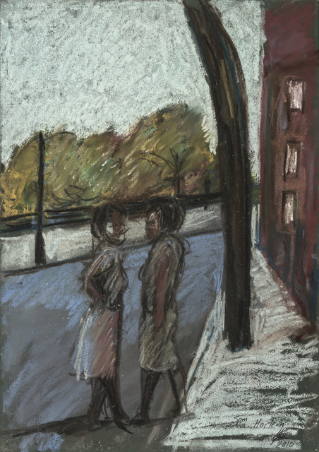 Lynette Yiadom-Boakye, '5 PM Harlem', 2010, The Studio Museum in Harlem
