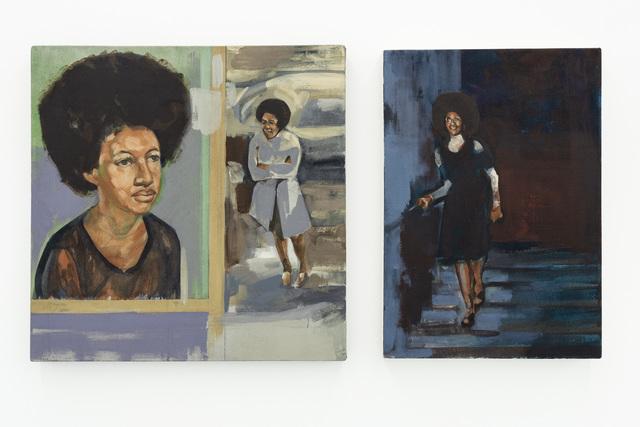 , 'Untitled (Gloria) I & II,' 2017, Gallery MOMO