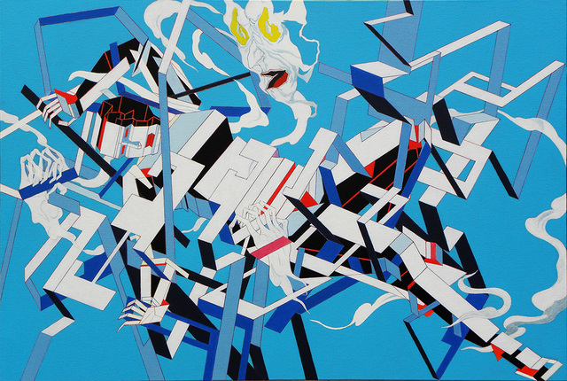 , 'Fight or Flight 1,' , Corey Helford Gallery