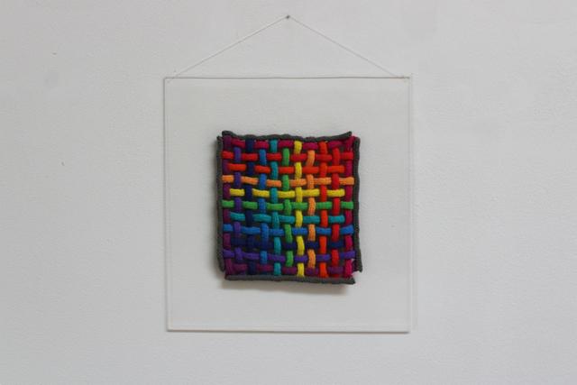 , 'Woven Knitted Spectrum,' 1974, New Art Centre