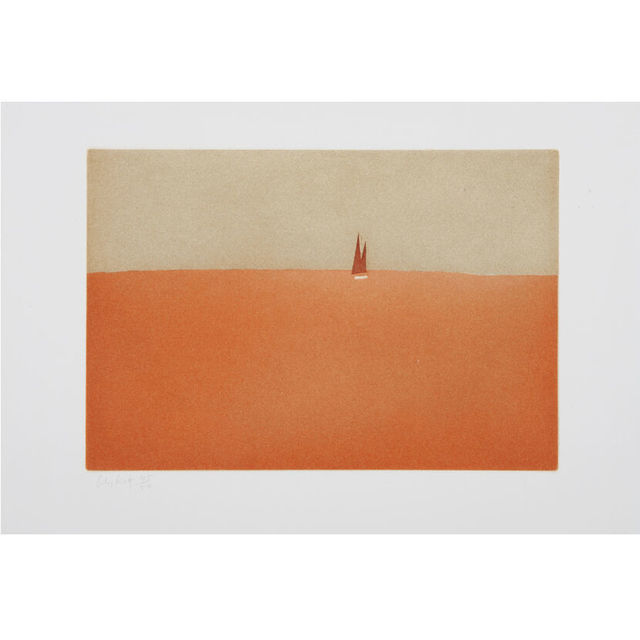 Alex Katz, 'Red Sail', 2008, Artsnap