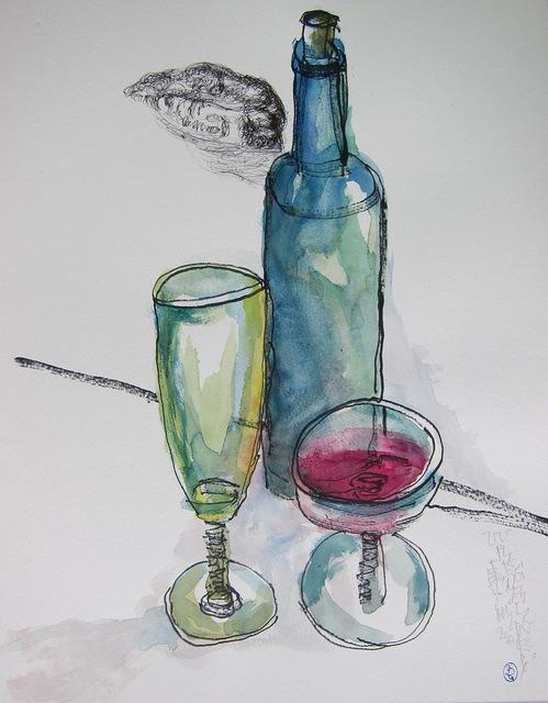 , 'Wine, lip & glass,' 2013, Alisan Fine Arts