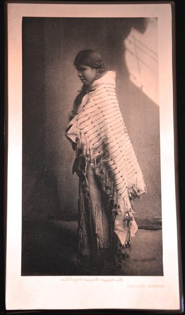 , 'Atsina Maiden,' 1908, Johannes Vogt Gallery