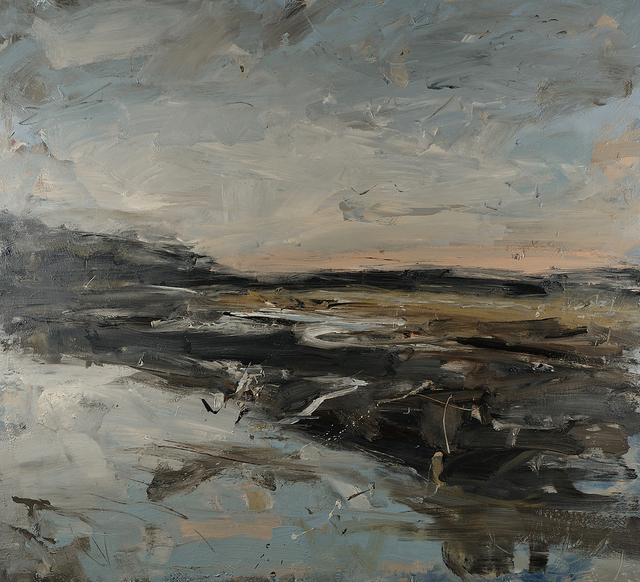 , 'Sky clearing over the estuary, herons (Pembrokeshire),' 2019, Cadogan Contemporary