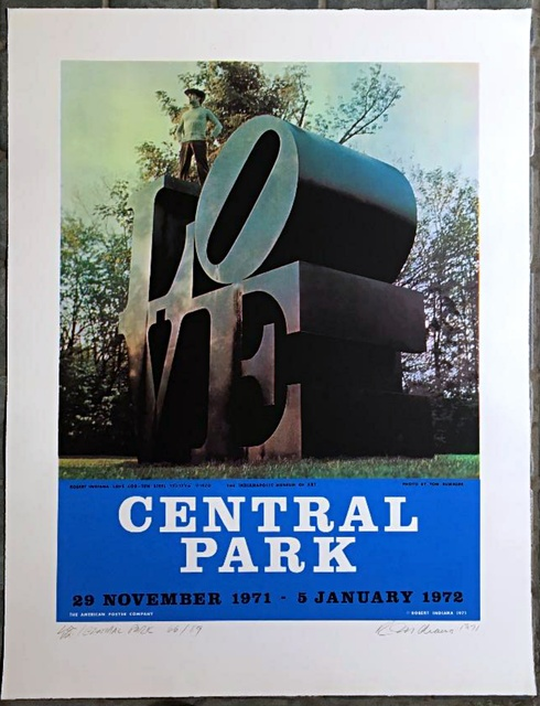 Robert Indiana, 'LOVE Central Park', 1971, Alpha 137 Gallery