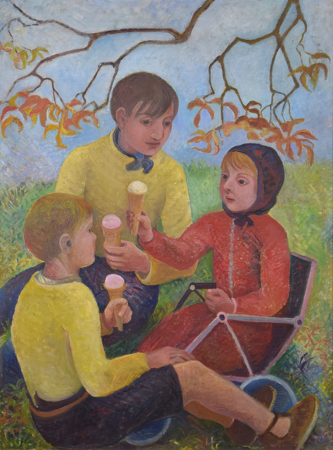 , 'Ice Cream Picnic,' 1953, Russell Collection