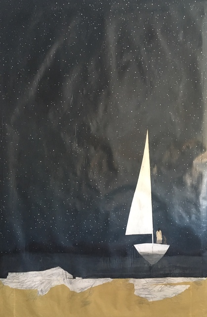 , 'Night Sail/ Tide, Sand, and Sky,' 2018, Emmanuelle G Gallery