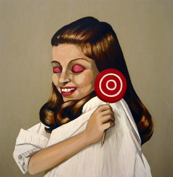 Dawn Mellor, 'Lena Z', 2000, Team Gallery