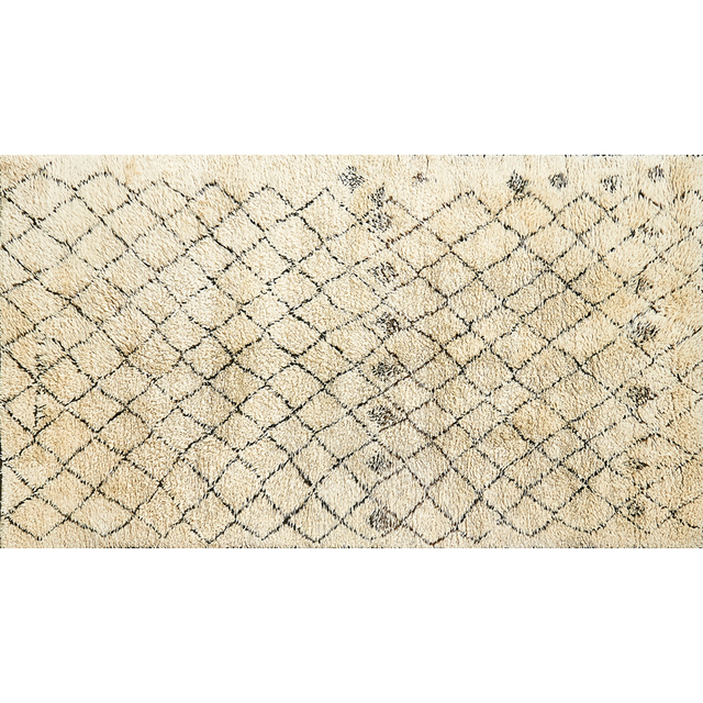 'Moroccan Rug With Diamond Pattern', ca. 2000, Rago/Wright