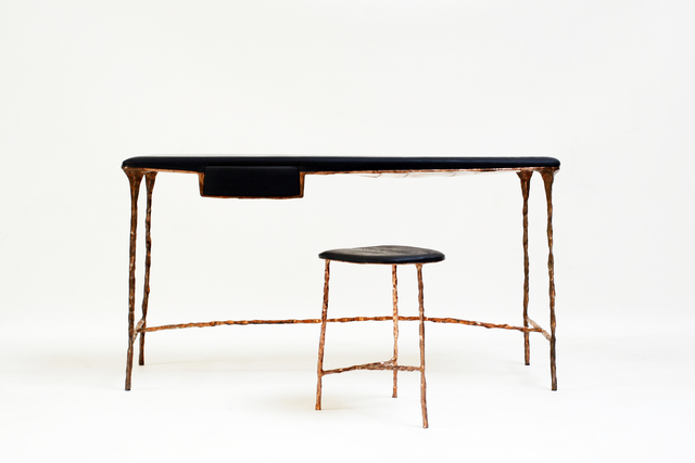 ", '""Spring/Summer"" desk and stool,' 2015, Galerie Gosserez"