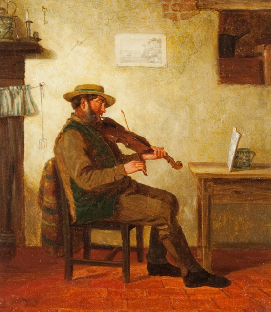 , 'The Violin Player,' , Questroyal Fine Art