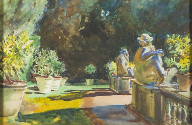 , 'Marlia Garden: Lucca, Italy [After John Singer Sargent],' 1912-1915, Childs Gallery